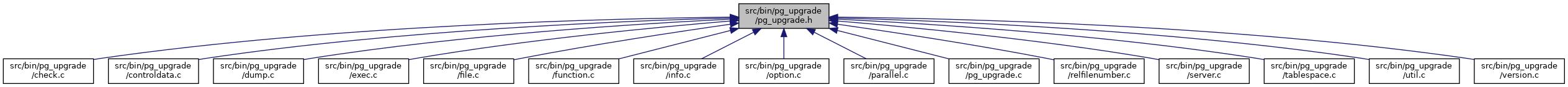 PostgreSQL Source Code: src/bin/pg_upgrade/pg_upgrade h File